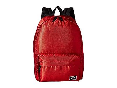 Vans Deana III Backpack (Racing Red Shine) Backpack Bags