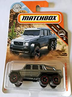 Matchbox 2018 MBX Off Road 13/20 - Mercedes-Benz G63 AMG 6x6