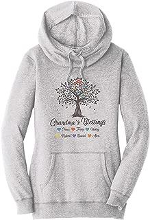 Grandma Hoodie with Grandkids Names Tree Grandma Sweatshirt with Grandkids Names Personalized Grandma Hoodie Custom Grandma Hoodie