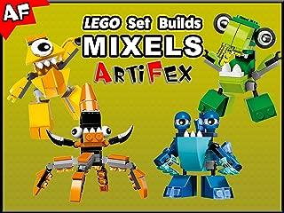 Clip: Lego Set Builds Mixels - Artifex