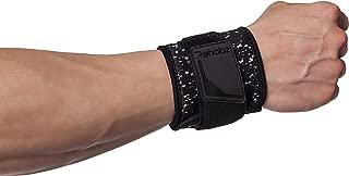 Rehabz Neoprene Wrists Brace for Wrist Support, Neoprene Waterproof Fabric, Unisex, One Size fits All (Black)