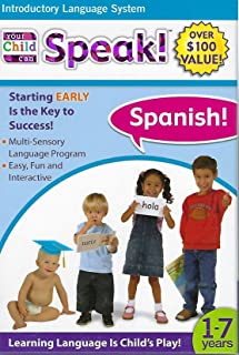 Your Child can Speak, Spanish 1-7 Years