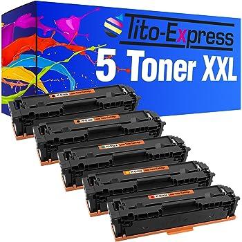 Tito-Express Platinum Serie 5 Cartuchos de tóner XXL compatibles ...
