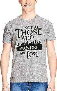 El Señor de los Anillos compañeros para Hombre de la Camiseta Gris Elbenwald