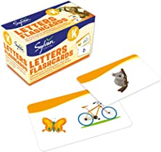 Pre-K Letters Flashcards: 240 Flashcards for Building Better Letter Skills Based on Sylvan's Proven Techniques for Success (Sylvan Language Arts Flashcards)