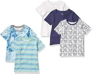 Honest Baby Clothing Kids' Organic Cotton Short Sleeve T-Shirt Multi-Pack