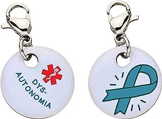 Dysautonomia Snap-On Bracelet Charm-Parent (Stainless Steel)