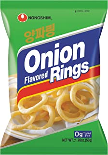 NongShim Snack Onion Flavored Rings, 1.41 Ounce (Pack of 12)