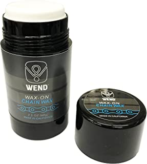 Wend Wax‐On Twist Up Bike Chain Greases