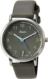 [セイコーウォッチ] 腕時計 アルバ Fusion 70年代 シティミリタリーテイスト グレー文字盤 カーブハードレックス 日常生活用強化防水(10気圧) AFSJ402 グレー