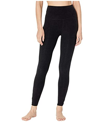 Beyond Yoga Spacedye Crossed My Mind High-Waisted Midi Leggings (Darkest Night) Women