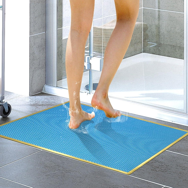 LRW Bathmats Shower Bath Mat Mat Bath Mat Mat (color   E, Size   43×73CM)