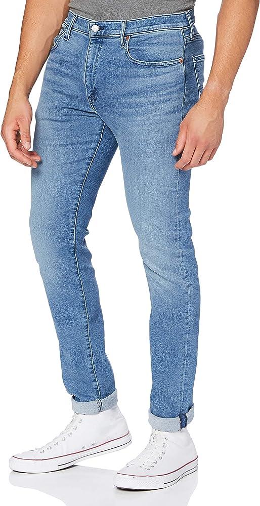 Levi`s 512, slim taper jeans per uomo,99% cotone, 1% elastan 28833 1