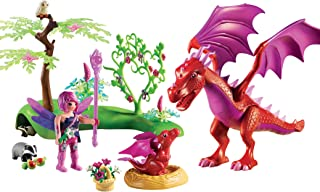 Playmobil Friendly Dragon with Baby Playset, Multicolor