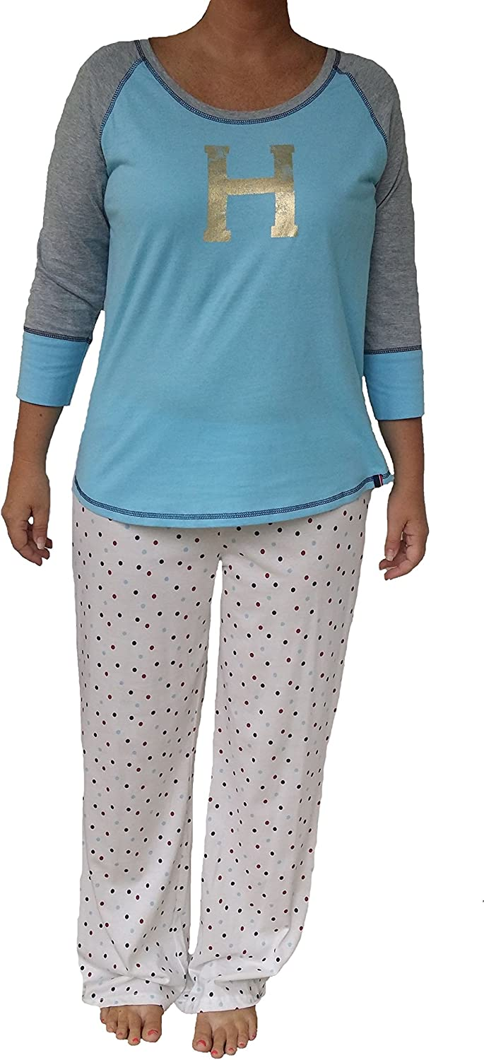 Sales of SALE items from new works Tommy Hilfiger Women's All items in the store Classic Pajama Two-Piece Set