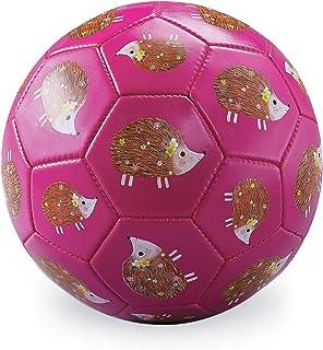Crocodile Creek 2213-9 Hedgehogs Soccer Balls, Size 3, Pink/Yellow/Green/Brown/White/Tan