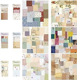 solawill Papier Scrapbooking Vintage,360 Feuilles Bloc Papier Scrap Autocollants Scrapbooking Stickers Matriel Journal Acc...