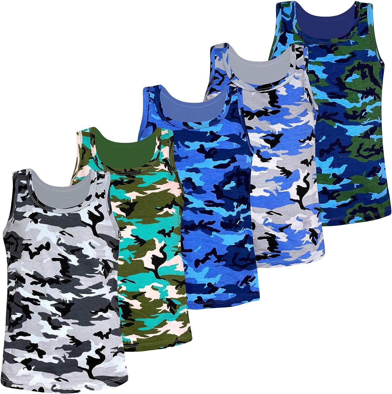 Camouflage Pants Outfits Boys Clothes Set lonta kids Boys 2 Pieces Set White Tops