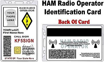 HAM Radio ID Card - Custom with Your Photo and Information - HAM Radio Identification