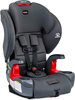 Britax Grow with You Harness-2-Booster Car Seat | 2 Layer Impact Protection - 25 to 120 Pounds, Pebble [New Version of Pio...