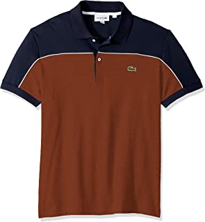 Lacoste Men's S/S Colorblock Interlock Polo Regular Fit