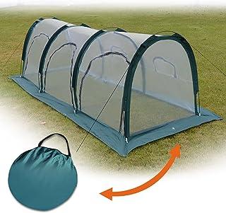 BenefitUSA ZH0121 Tunnel Mini Gardening Sunshade Greenhouse Outdoor, 10'x3.3'x3.3', Green
