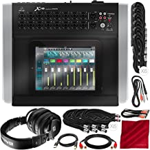 Behringer X Air X18 Compact 18-Input Digital Mixer for iPad/Tablet with PreSonus HD9 Professional Monitoring Headphones and Assorted Cables Platinum Bundle
