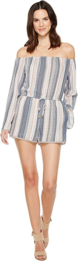 Brigitte Bailey - Elfi Off the Shoulder Romper
