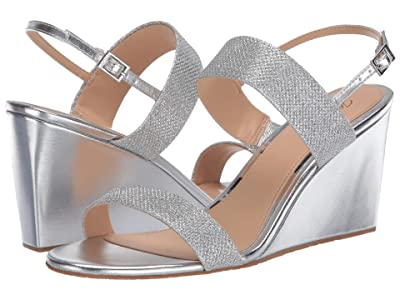 Jewel Badgley Mischka Nisa (Silver) Women