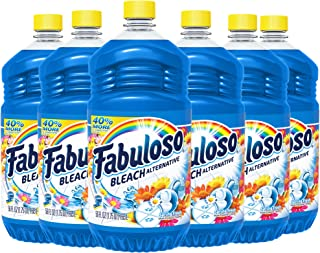 FABULOSO All-Purpose Cleaner with Bleach Alternative, Spring Fresh, Bathroom Cleaner, Toilet Cleaner, Floor Cleaner, Showe...
