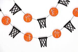 10,2 x 45,7 cm Fhdang Decor de Basket-Ball Plaque en m/étal Pancarte de Rue personnalis/ée Cadeau de Basket-Ball