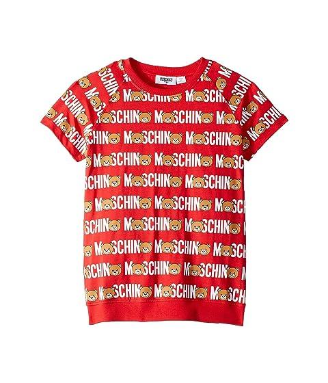 Moschino Kids Logo T-Shirt (Little Kids/Big Kids)