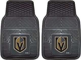 FANMATS NHL Vegas Golden Knights Unisex 22901Heavy Duty Vinyl Car Mats, Black, 18x27