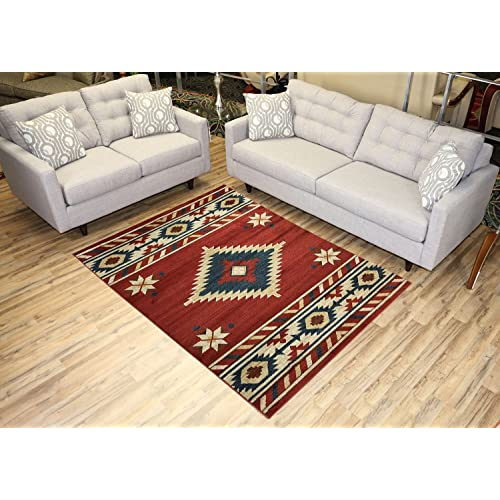 Southwest Style Rugs For Living Room Amazon Com
