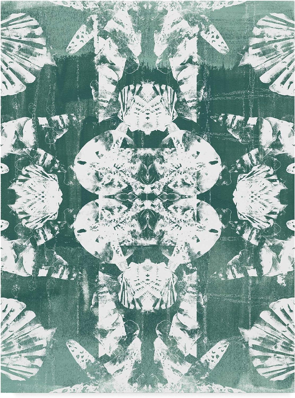 Trademark Fine Art Sea Green Kaleidoscope IV by June Erica Vess, 14x19