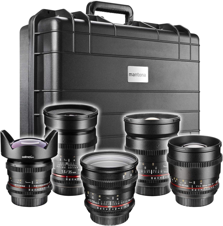 Walimex Pro Vcsc Full Frame Shooter Video Objektiv Set Kamera
