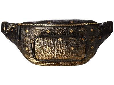 MCM Fursten Gradation Visetos Belt Bag Medium (Gold) Handbags