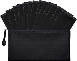 Trail Essentials Feminine Personal Disposal Bags- 100 Black Opaque Bags for Sanitary Disposal, with Purse Pouch. Discreet ...