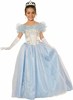 Forum Novelties Kids Happily Ever After Princess Costume, Blue, Small
