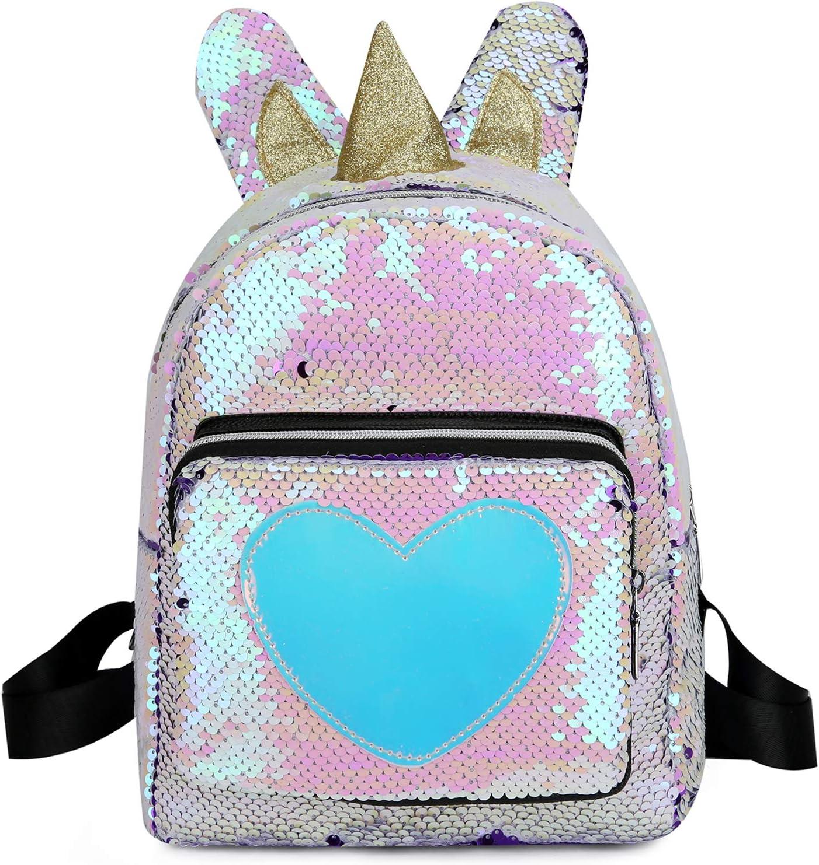 Columbus Mall Kids Toddler Ranking TOP13 Backpack Sequin PreSchool Travel Bag Daypack Childr