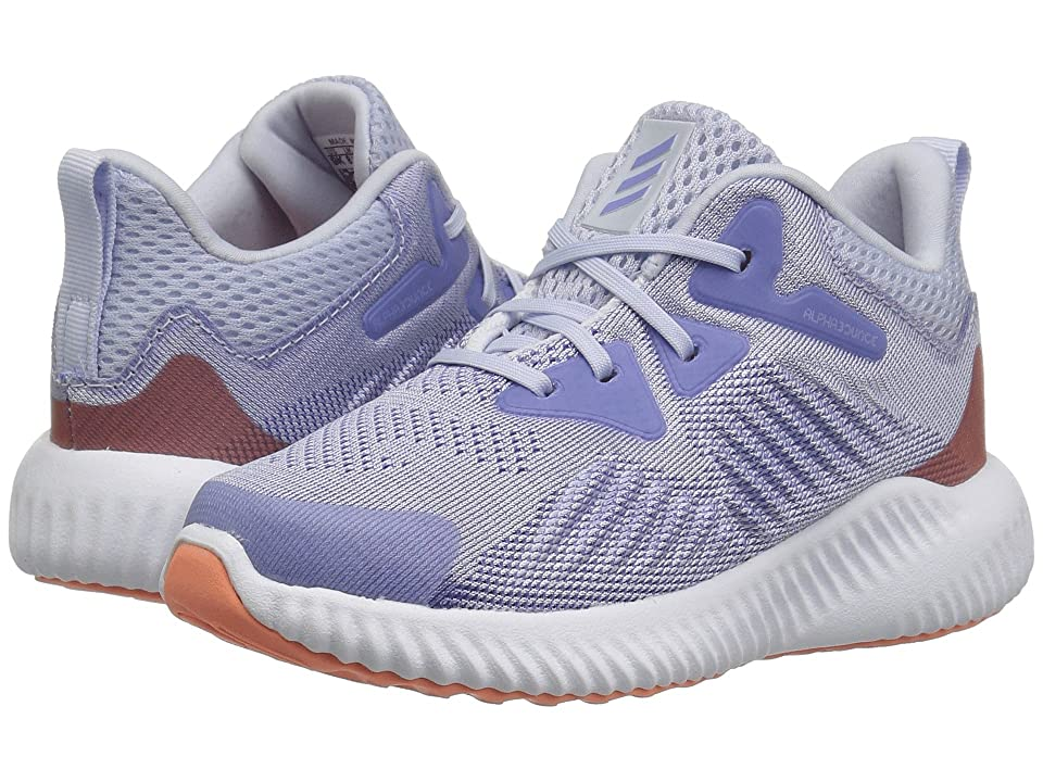 adidas Kids Alphabounce Beyond (Toddler) (Aero Blue/Chalk Purple/White) Girls Shoes