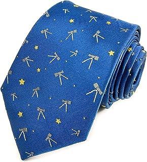Astronomy Necktie - Astronomer Necktie - Astrology Necktie - Stargazing Gift - Astrology Gift - Telescope Gift - Stargazer Gift for Men