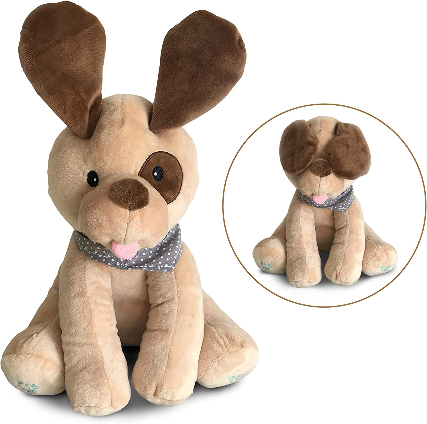 Plush singing Max 70% OFF and playing Be super welcome interactive stuffed babi puppy dog for