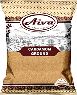 AIVA Cardamom Ground (Elaichi Powder) Non-GMO and Gluten Free | Indian Spice - (100 ( 3.5 oz ))