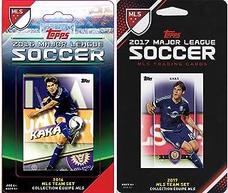 C&I Collectables MLS 奥兰多 FC 男式 2 种不同的许可集换卡队套装,白色