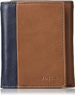 Fossil Ward Blue Men's Wallet (ML4247400)