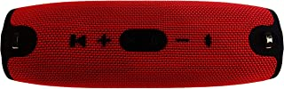 Xtreme 2 Portable Wireless Bluetooth Speaker,Red-With 10000mAh Power Bank and 2 USB output