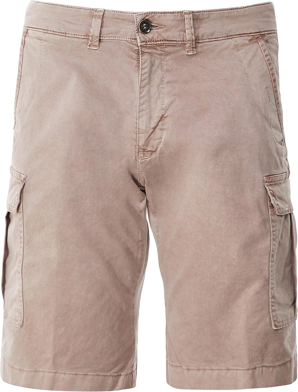 916dc698d6 Baldessarini Men's Regular Regular Regular Fit Jarne Cargo Shorts Brown  f9f86e