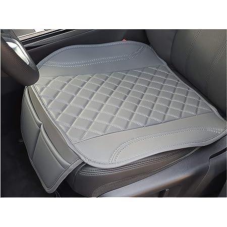 Sitzauflage Kunstleder Grau Mit Grauen Nähten Passend Für Hyundai Kona Sitzbezüge Auto Sitzauflage Sitzkissen Ot409 Baby