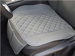 Sitzauflage Kunstleder Grau mit Grauen Nähten passend für Hyundai Kona Sitzbezüge Auto Sitzauflage Sitzkissen OT409